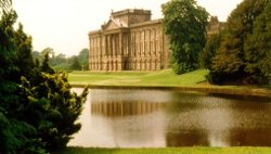 Lyme Park as Pemberley in the BBC's 1995 mini-series version of Pride and Prejudice.