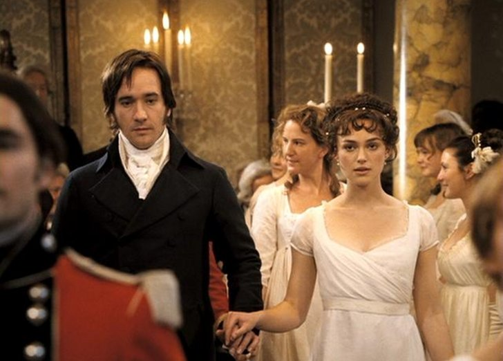 Wedding scene in Pride and Prejudice 2005 with Keira Knightley and Matthew Macfadyen