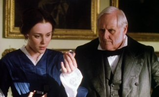 The Moonstone BBC 1997 The-moonstone-keeley-hawes-peter-vaughan-receiving-diamond-sm