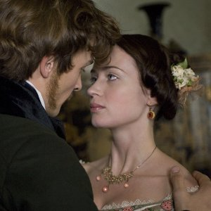 Young Victoria (Emily Blunt) and Albert (Rupert Friend)